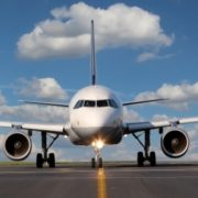 fly paa landingsbanen
